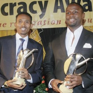 Mohammed Ali, aka Jicho Pevu and John Allan Namu are set to syndicate content for TV47.