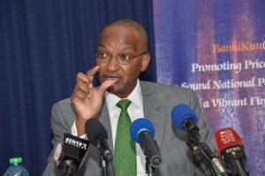 CBK Governor Patrick Njoroge