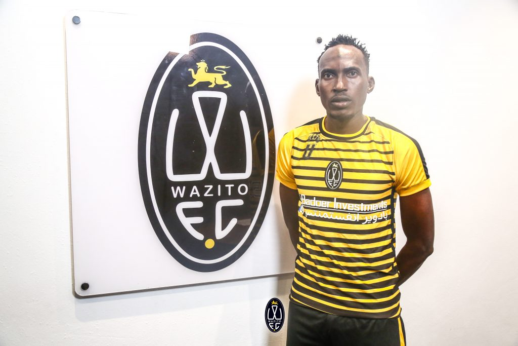 Former Gor Mahia defender Karim Nizigiyimana unveiled at Wazito FC. Wazito FC have made a total of 11 signings while Gor Mahia have made 10. www.businesstoday.co.ke