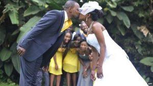A married couple posing in a photoshoot www.businesstoday.co.ke