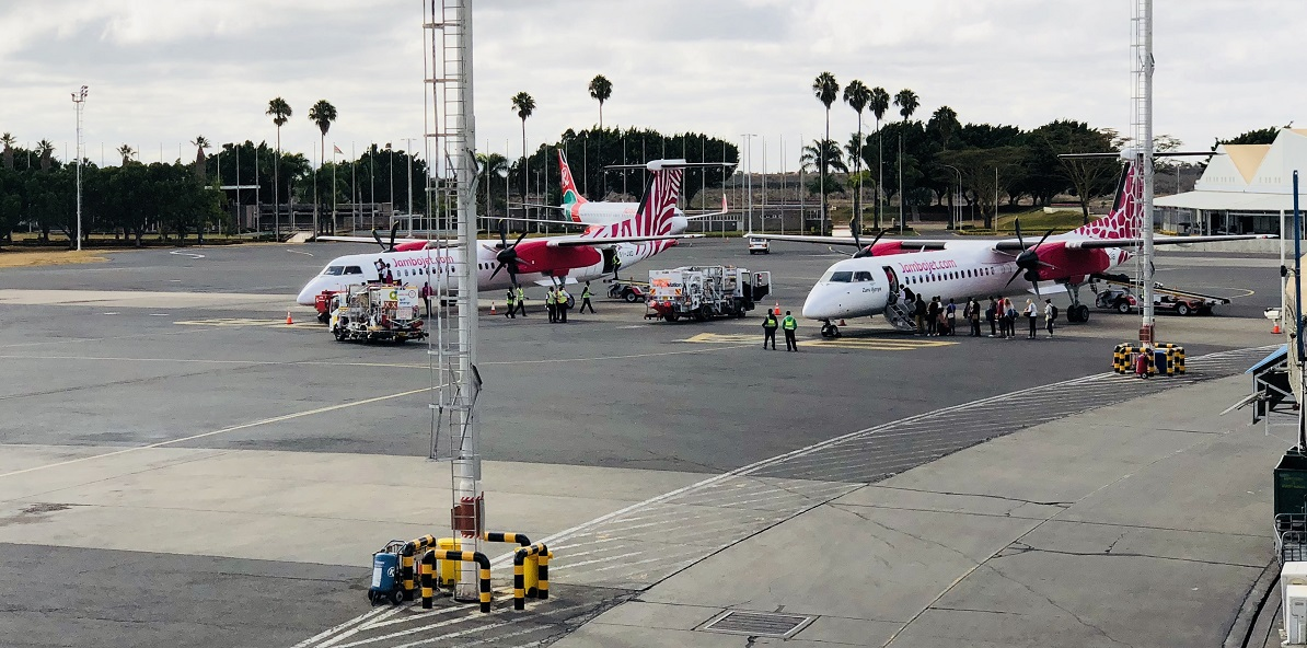 A Jambojet fleet. CEO Allan Kilavuka says continental recognition This recognition is yet another validation of their commitment to keeping customer safety at the core of their business. www.businesstoday.co.ke