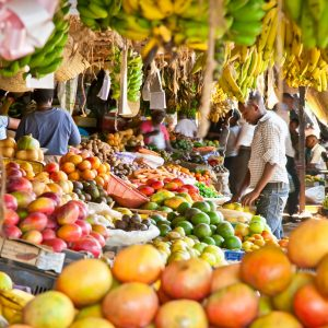 A fruit market which is popular with entrepreneurs. Statistics indicate that most businesses collapse within the first year after they begin, drawing a gloom reality for those interested in entrepreneurship. www.businesstoday.co.ke