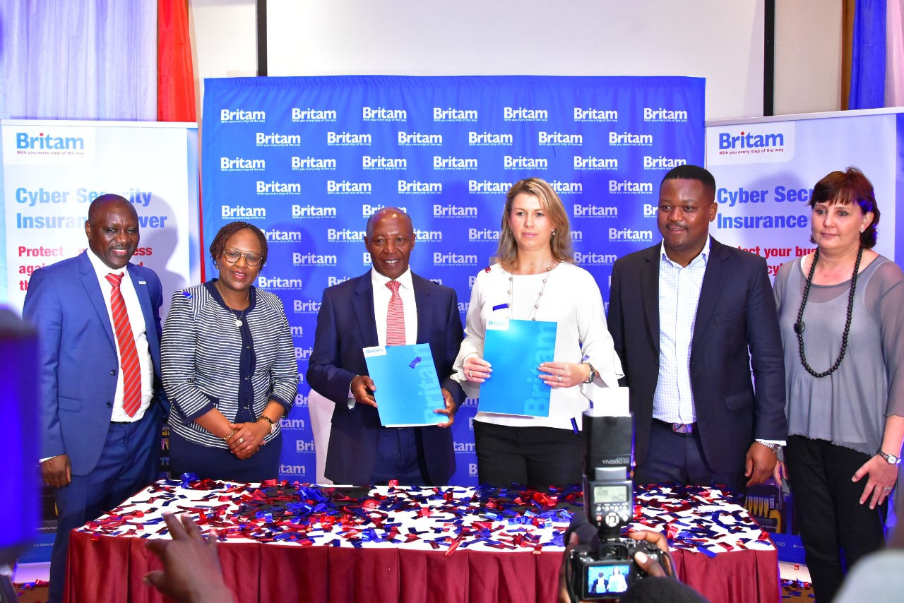 During the launch of the product Britam Holdings Plc Group Managing Director, Dr Benson Wairegi said cybercrime will continue to become more advanced not just in the financial sector, but also in many industries across the region www.businesstoday.co.ke