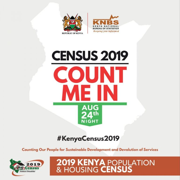 Census staff will wear orange and maroon reflector jackets. The jackets will have a government logo on the right and a census one on the left. [Photo/Varcity.co.ke]