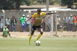 Wazito Captain Dennis Gicheru in action during a previous match at camp Toyoyo. www.businesstoday.co.ke