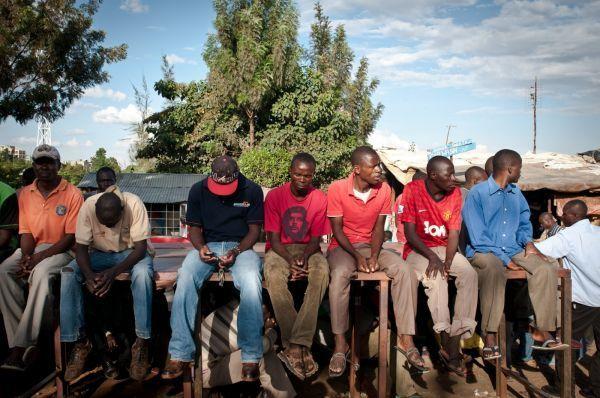 Jobless Kenyan Youths idling www.businesstoday.co.ke