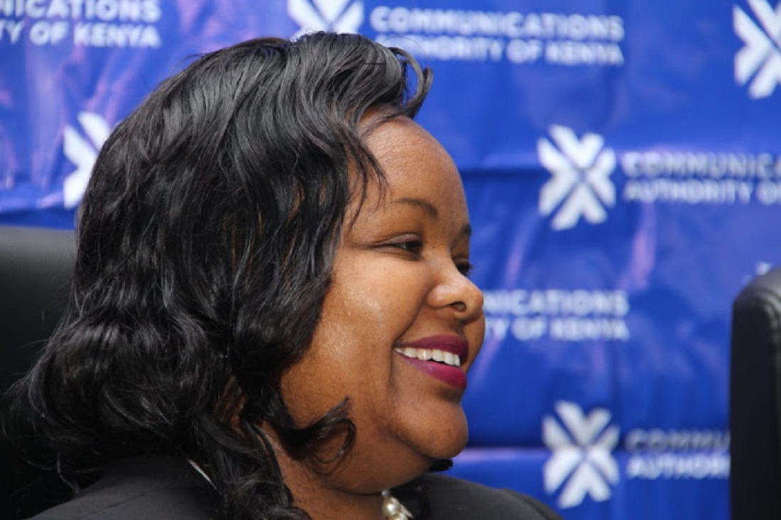 New Acting Director of the Communications Authority of Kenya Mercy Wanjui. She replaces Francis Wangusi whose term has elapsed www.businesstoday.co.ke