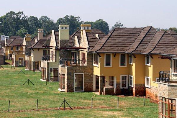 An estate project in the lush Runda www.businesstoday.co.ke