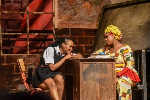 Sheila Munyiva as Sarafina www.businesstoday.co.ke