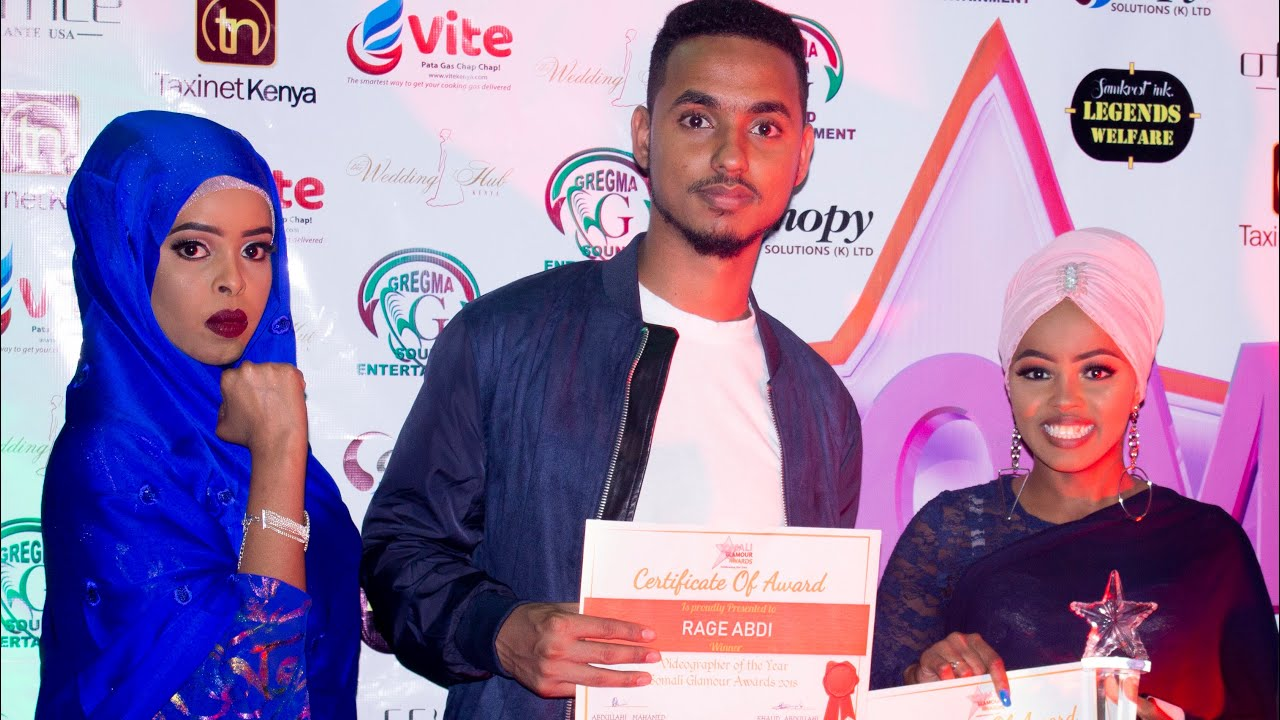 Winners during the Somali Glamour Awards 2018. This year's event will see 150 nominees battle it out in 30 categories. www.businesstoday.co.ke