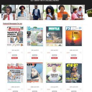 Standard e-paper subscription www.businesstoday.co.ke