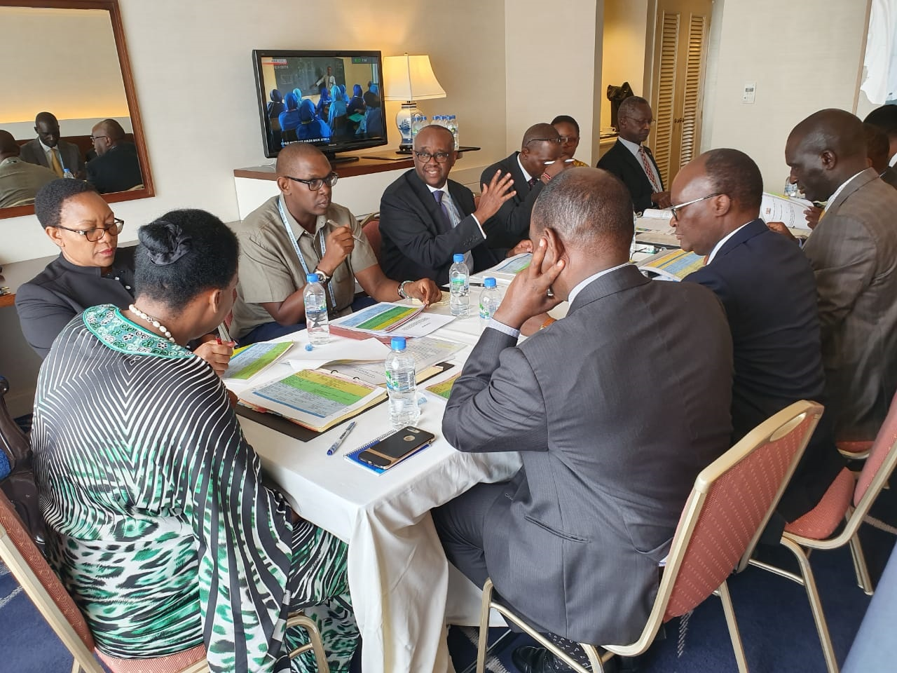 Cabinet Secretaries and the Kenya delegation in Yokohama, Japan hold a final briefing before the commencement of the ministerial segment of TICAD 7. H.E. President Uhuru Kenyatta is leading the Kenya delegation to the TICAD 7. www.businesstoday.co.ke