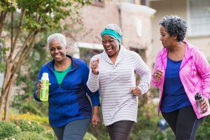 Elderly women doing physical exercise www.businesstoday.co.ke