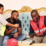 Mombasa Governor Ali Hassan Joho answering questions from KNBS enumerator in the census exercise www.businesstoday.co.ke