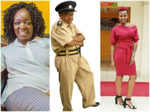 From L-R Jeridah Andayi, Inspekta Mwala and Melody Sinzore had a heated argument on air during monday's show. www.businesstoday.co.ke