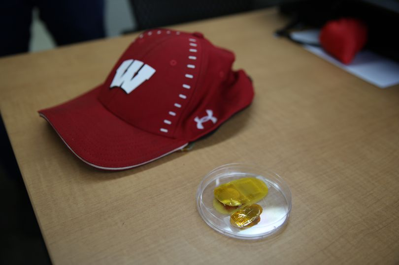 The new device is small enough to fit under a baseball cap www.businesstoday.co.ke