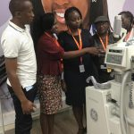 Health Professions being trained on using modern medical equipments in Nairobi www.businesstoday.co.ke