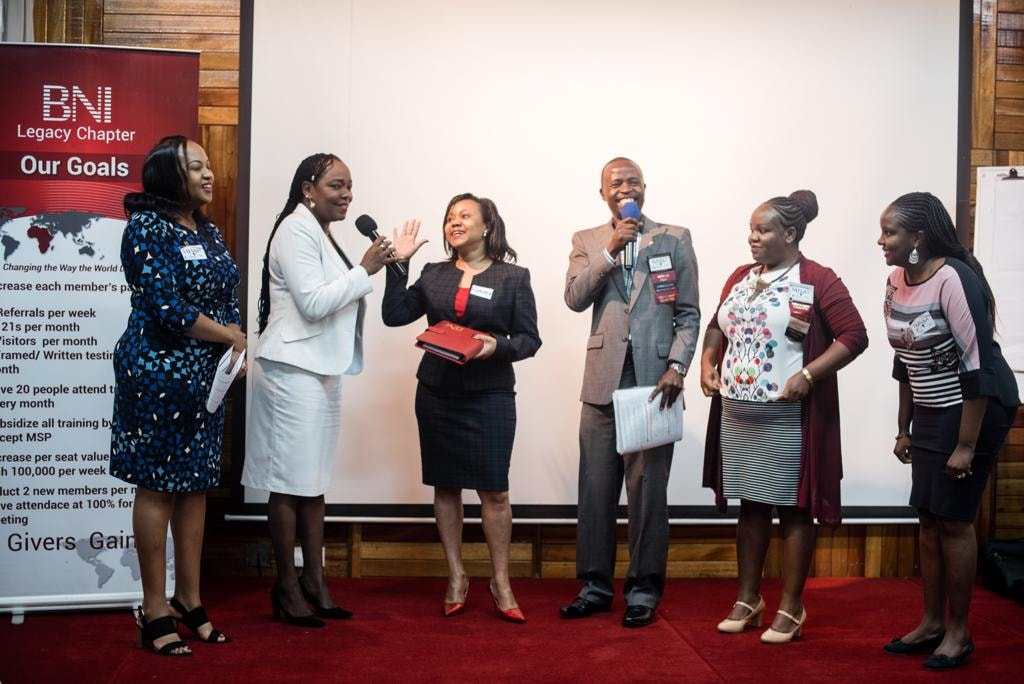 Business Network International members at a past function. The event that is set to host the CEOs on October 11 for a grand breakfast meeting at Nairobi hotel. www.businesstoday.co.ke