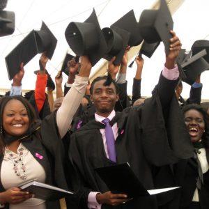 Students in a graduation ceremony www.businesstoday.co.ke