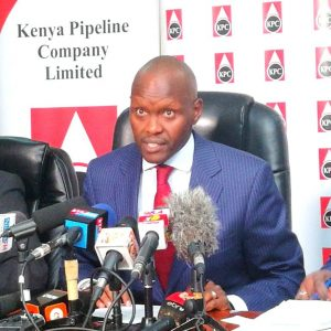 Former Kenya Pipeline Managing Director Joe Sang. The Board is yet to find a suitable replacement. www.businesstoday.co.ke