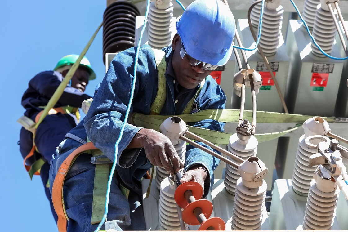 Electrical technicians at work. Kenya Power has attributed the expected drop to an increase in non-fuel costs in line with the company's longterm strategy of generating cheaper and cleaner renewable energy. www.businesstoday.co.ke