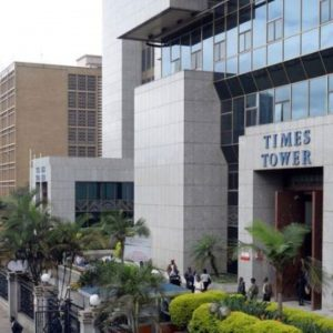 Kenya Revenue Authority headquarters at Times Tower Nairobi.