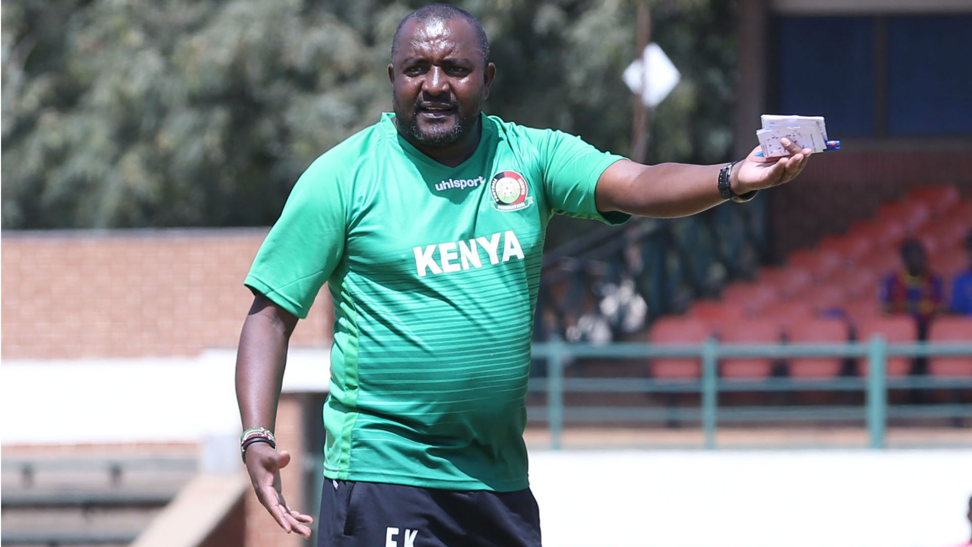 Harambee Stars Coach Francis Kimanzi has his trust with the young talents as he works to build a future for Harambee Stars. www.businesstoday.co.ke