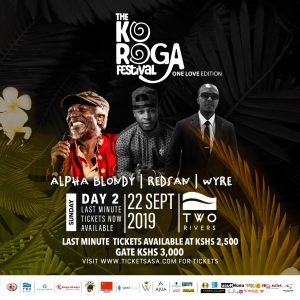 The 27th edition of the Koroga Festival is set to go down this weekend 21- 22 September at the prestigious Two Rivers Mall in Kiambu County. www.businesstoday.co.ke