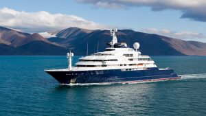Microsoft co-founder Paul Allen's yacht which is being sold for Ksh34 billion. www.businesstoday.co.ke