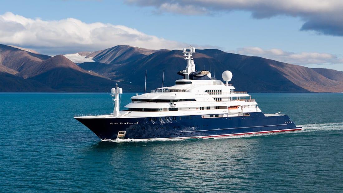 Microsoft co-founder Paul Allen's yacht which is being sold for Ksh34 billion. www.businesstoday.co.ke
