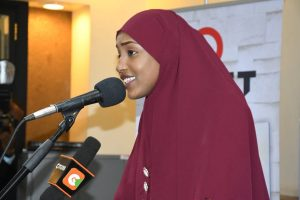 Misky Hajji launches book www.businesstoday.co.ke
