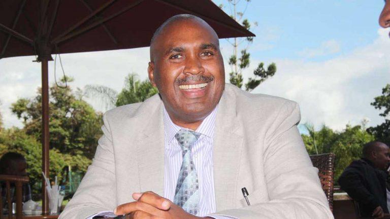 Simon Gicharu REREC chairman
