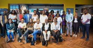 Entrepreneurs who showed up for the first masterclass by Jumia pose for a photo with the Jumia team. www.businesstoday.co.ke