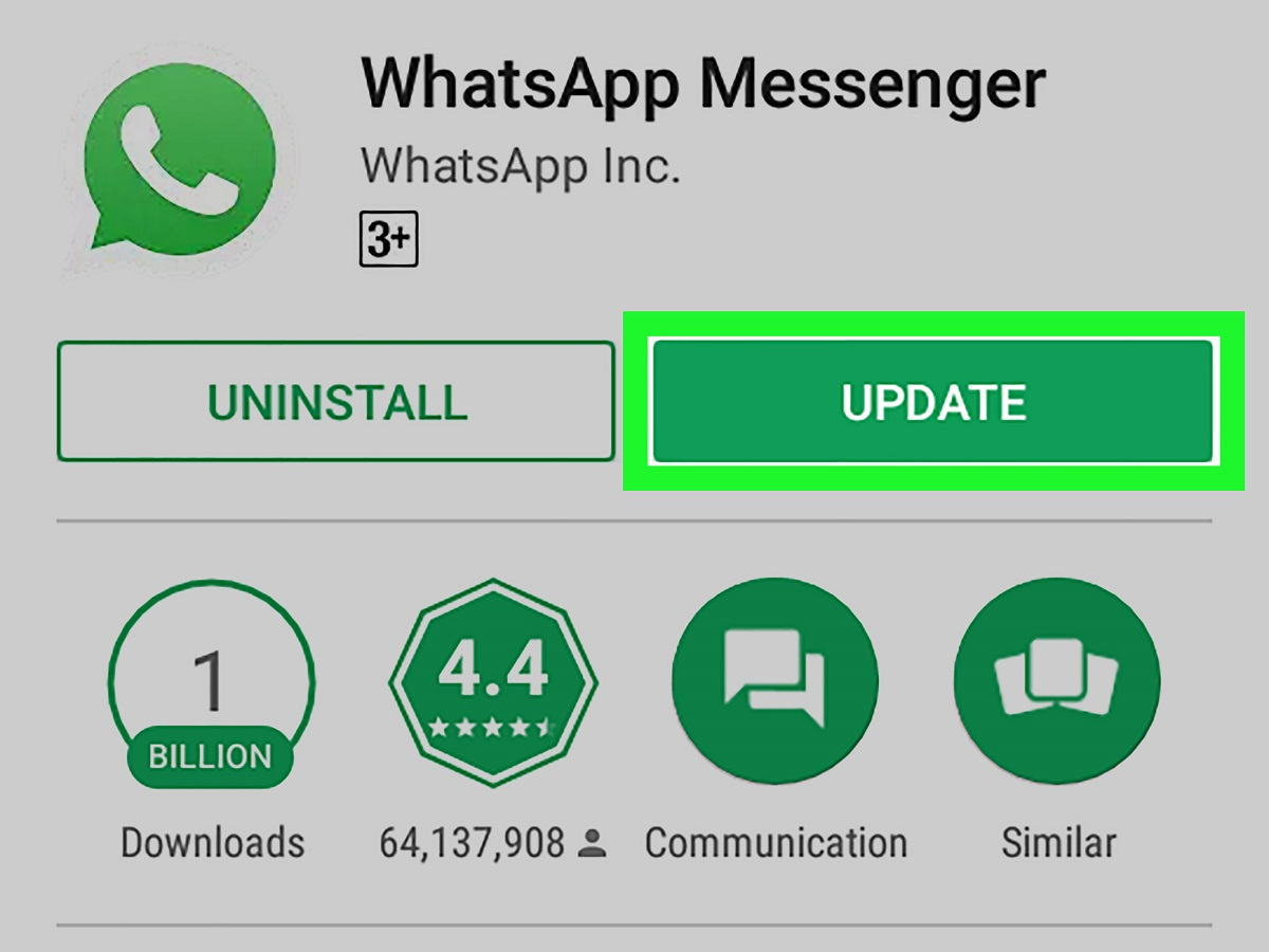 There is need to replace the affected phones. Most of the affected phones will not allow the updating of WhatsApp. www.businesstoday.co.ke