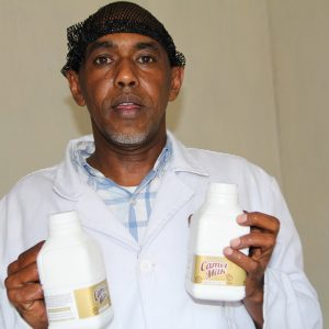 White Gold Camel Milk Processors CEO Jamah Warsame www.businesstoday.co.ke