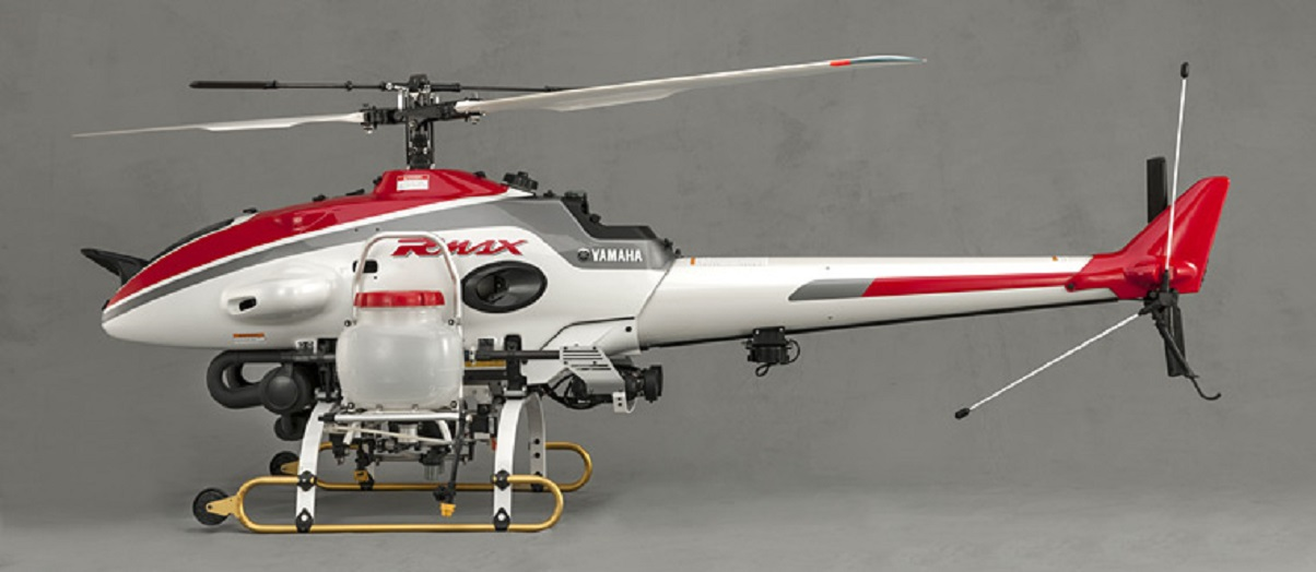 The Yamaha RMAX unpiloted helicopter. The Yamaha drones will be used for air cargo delivery and crop spraying in Kenya. www.businesstoday.co.ke