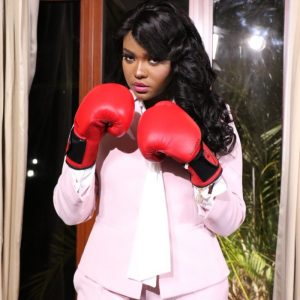 Anne Kiguta during her stint as host of 'Punchline' on K24. Kiguta quit the show on December 6, 2020 citing disagreements over the editorial process.