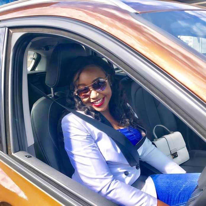 Betty Kyalo wants a car that will be a head turner like herself. www.businesstoday.co.ke