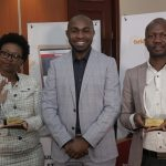 Kenya Revenue Authority Recruitment Manager Ruth Nyamoko, BrighterMonday Chief Executive Officer Emmanuel Mutuma and Head of Talent Engagement, EABL Nicholas Kasidhi during the unveil of the best 100 companies to work for in Kenya report by BrighterMonday. Out of the companies surveyed, KRA was position 5 while EABL came second. Mobile telecom company Safaricom emerged as the best company to work for as well as the most 'desired', and 'respected' brand. www.businesstoday.co.ke