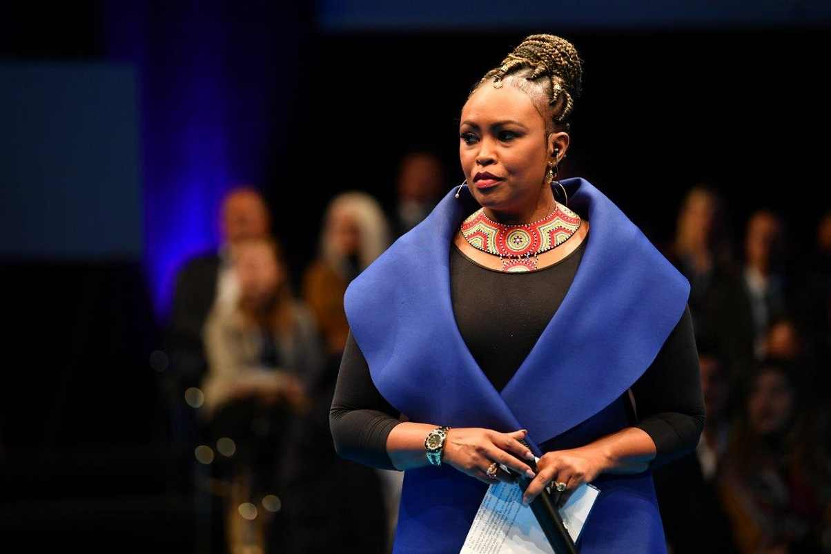 Caroline Mutoko at the World Tourism Forum Lucerne 2019. She is the Group CMO and General Manager Digital at Radio Africa and has evolved over time becoming an unmistakable brand. www.businesstoday.co.ke