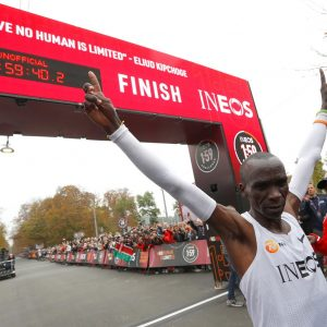 Eliud kipchoge sub two hour marathon record www.businesstoday.co.ke