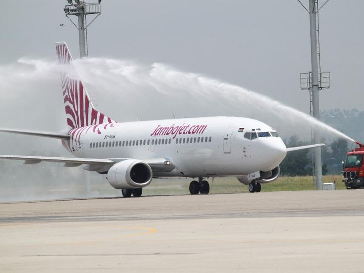 Jambojet will be flying two times weekly, on Monday and Friday, from its hub at the Jomo Kenyatta International Airport.