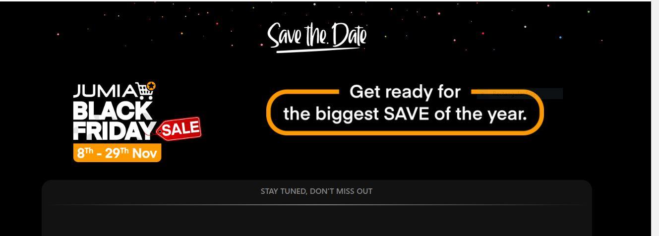 Jumia Black Friday 2019 deals www.businesstoday.co.ke