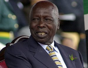 Former President Daniel Moi. He was unable to silence one woman whom he referred to as a 'madwoman'. www.businesstoday.co.ke