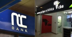 NIC and CBA are set to begin operating as one ntity, NCBA Group PLC. www.businesstoday.co.ke