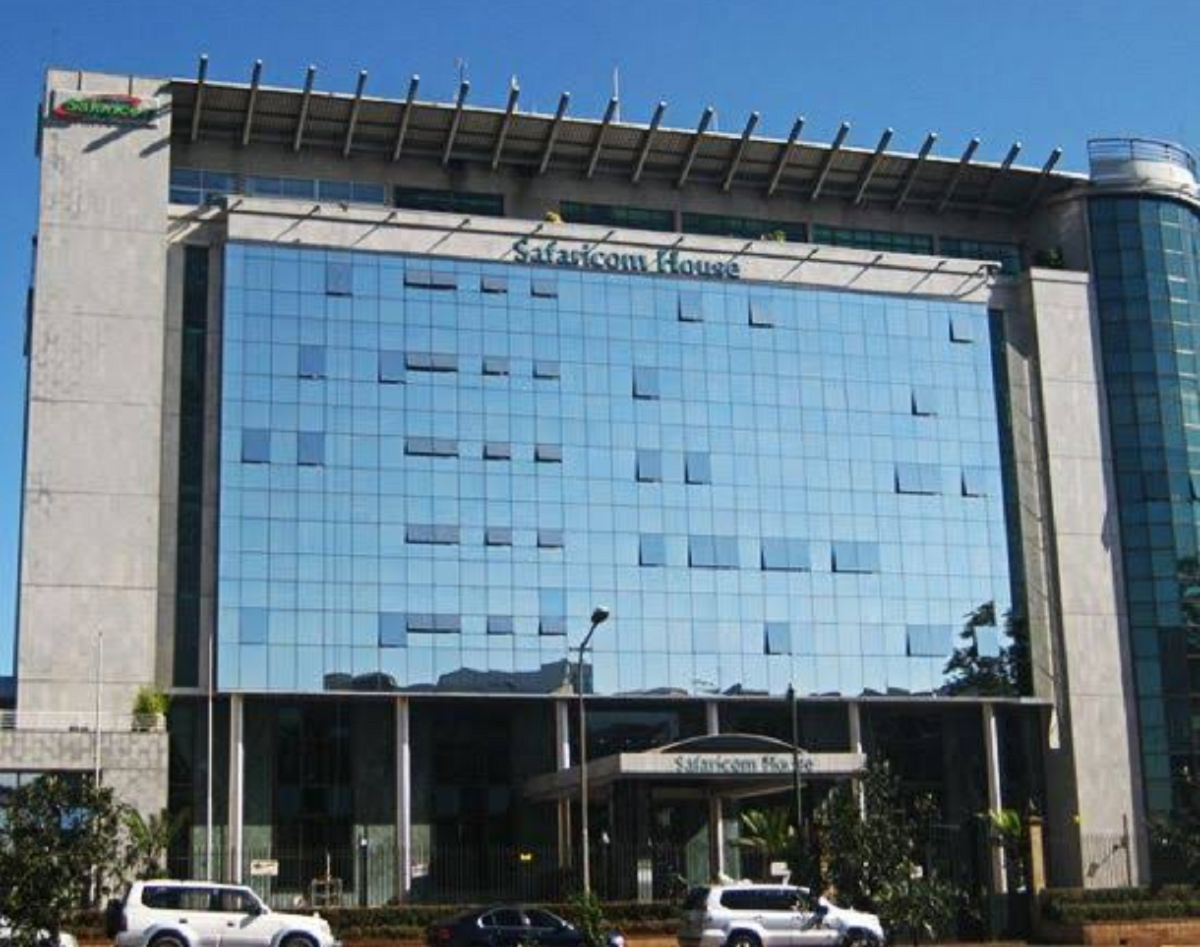 Safaricom House in Westlands. The new Safaricom CEO, Peter Ndegwa, will not usurp his role until April 1, 2020. www.businesstoday.co.ke