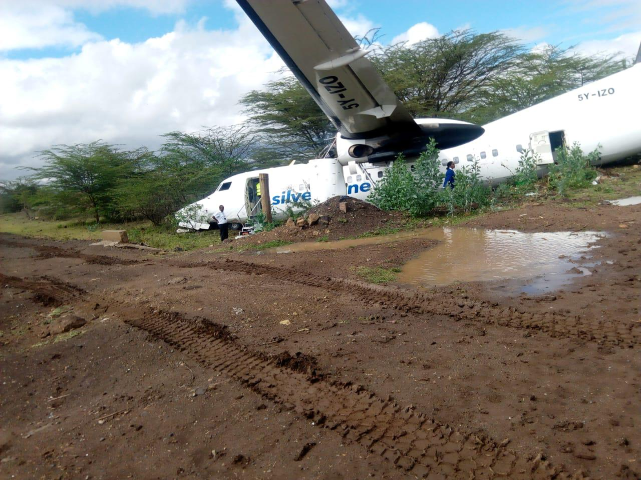 The plane crashed just before taking off at the Wilson Airport. www.businesstoday.co.ke