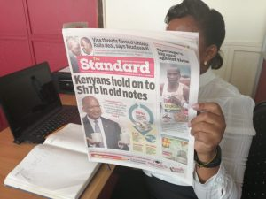 Standard newspaper circulation www.businesstoday.co.ke