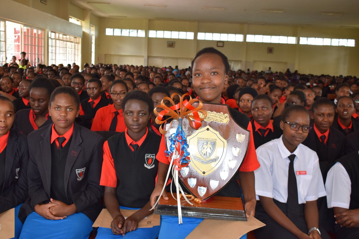 Students at Starehe Girls Centre. They have been sent home and the school closed indefinitely after a yet to be identified disease outbreak at the institution. www.businesstoday.co.ke