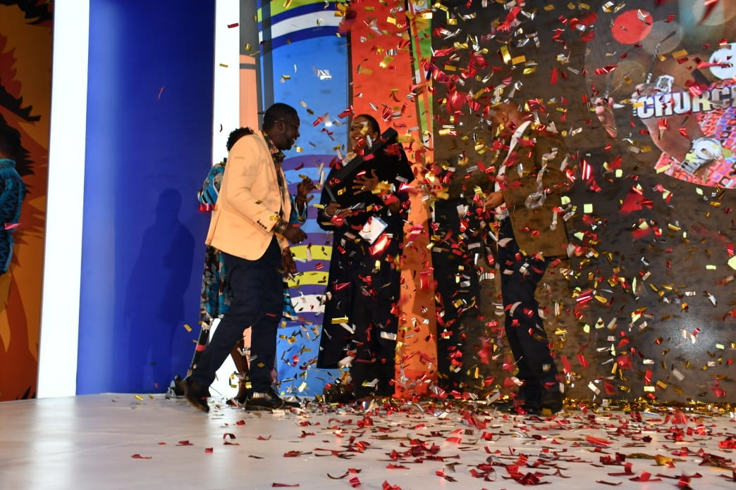 Daniel 'Churchill' Ndambuki was awarded the golden play button for being the first Kenyan to reach 1 million subscribers on Youtube. www.businesstoday.co.ke